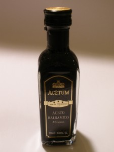 Acetum - Gold Label, 3 Leaf Balsamic Vinegar