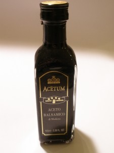Acetum - Black Label, 4 Leaf Balsamic Vinegar