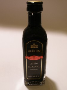 Acetum Red Label Balsamic Vinegar